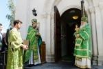 Архиерейское служение в день обретения мощей преподобного Серафима Саровского