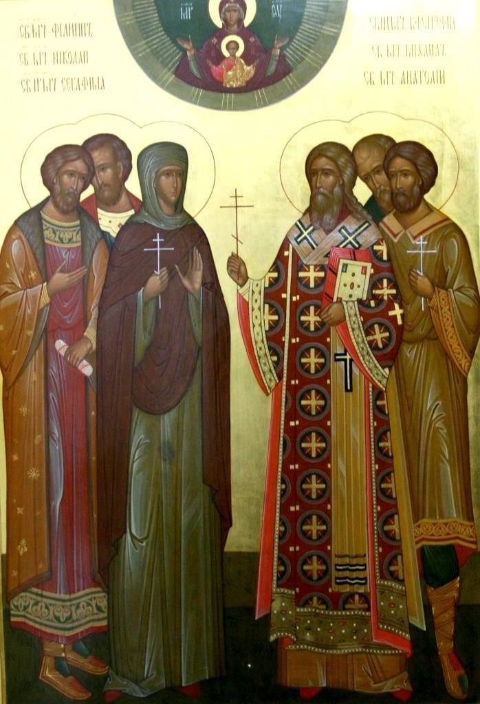 Икона новомучеников кирилловских