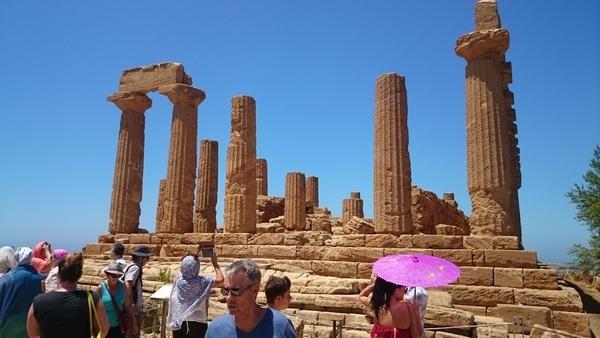 Храм языческой богини Геры