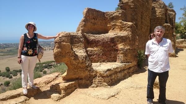 Тимофей рассказавыет о крепости греческих стен