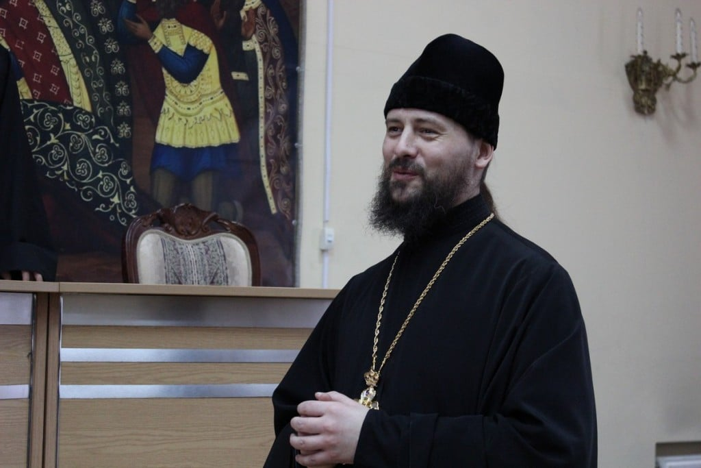 Ректор Николо-Угрешской семинарии игумен Иоанн