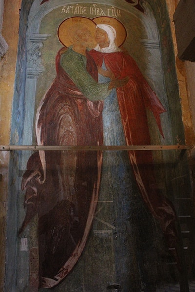 чудотворная икона св. Богоотец Иоакима и Анна
