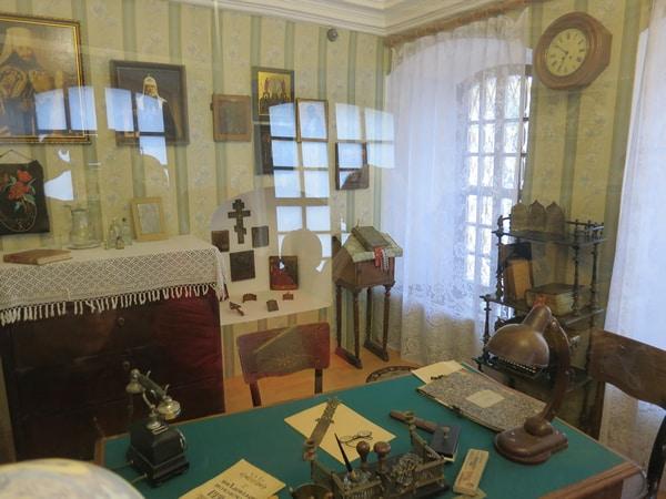 Реконструкция кабинета Патриарха Сергия (Страгородского)