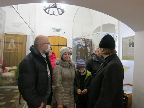 В зале, посвященном Святейшему Патриарху Московскому и Всея Руси Кириллу и его корням на Нижегородской земле