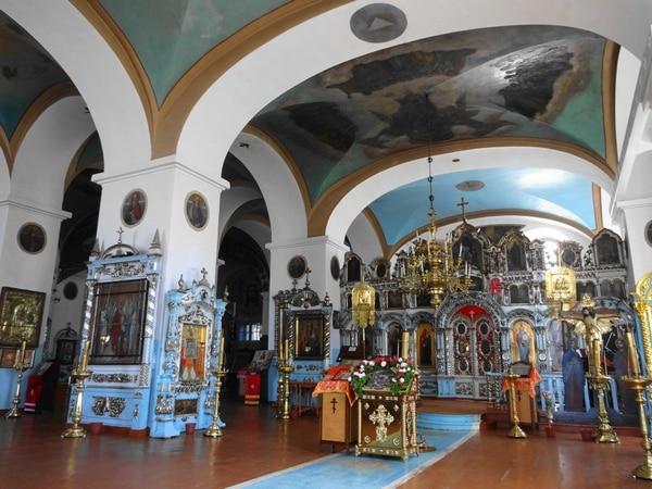 Внутреннее убранство Смоленского собора